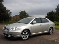 TOYOTA AVENSIS 1.8 T3-X AUTOMATIC FULL SERVICE HISTORY