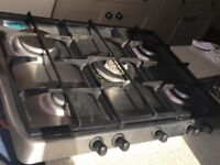 Hotpoint gas hob not new as reflected in the price !! Would suit sombody eg land lord