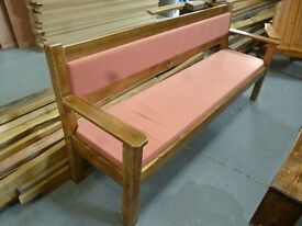 Sofa/Bench with cushion