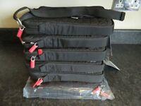 """Belkin 10.2"""" Ipad Netbook Notebook Sleeves/Bags Shoulder Straps Black/Red F8N151EABR JOB LOT x 6"""
