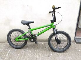 "Kids bike 'Stolen Nipper' 16"" wheel, 5-8 yrs Bristol Upcycles bmx childs n"