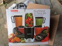 Nutriblend power juicer