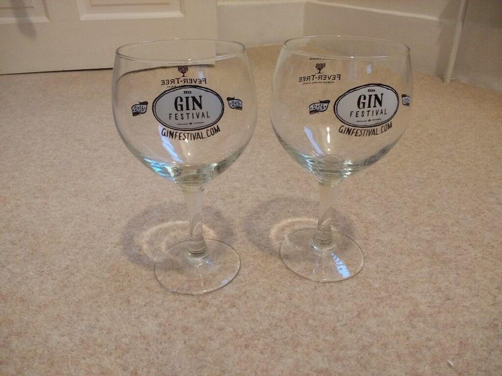 Gin balloon glasses- free
