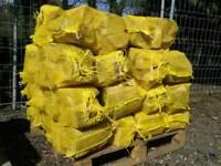 Seasoned logs wood firewood kindling