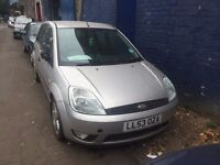 Ford Fiesta Zetec DTCi 2003 For PARTS or Repair