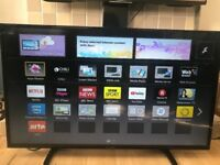 "Panasonic smart tv model TX-39AS500B 39"" in very clean good condition as new"