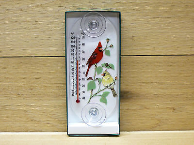 (Aspects Original Window Mount Outdoor Thermometer Cardinal Pair #062)