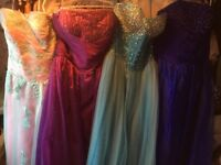 Job lot of new prom and bridesmaid dresses, inc. plus sizes -Business opportunity