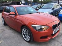 BMW 1 Series 2.0 120d M Sport Sports Hatch 5dr FREE WARRANTY,HPI CLEAR,FINANCE AVAILABLE,P/X WELCOME