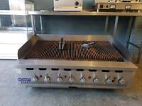 hobart bonnet 8 burner char grill,griddle,hot plate,catering equipment