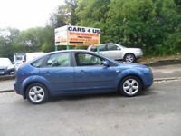 Ford Focus Zetec Climate 5 Door Hatchback! 1.6CC Petrol! MOT Till Feb 19! With 124K Miles