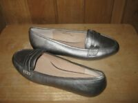 LADIES SILVER SHOES SIZE 6 FROM MONSOON BRAND NEW