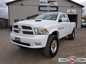2011 Ram 1500 SPORT LIFTED QUAD SHORT BOX HEMI!!