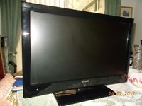 "Luxor LCD 21"" Colour TV with DVD player Scart and VGA Sockets"