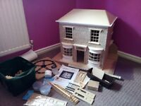 Beautiful expensive dolls house.