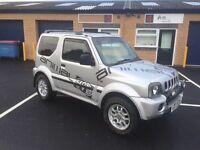 2003 suzuki Jimny 1.3 4x4 12 months mot/3 months parts and labour warranty (FREE MOT NEXT YEAR)