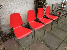 4 dining chairs ex Ikea