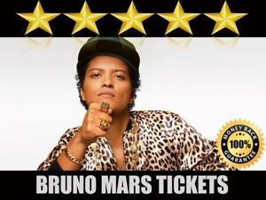 Discounted Bruno Mars Tickets | Last Minute Delivery Guaranteed!