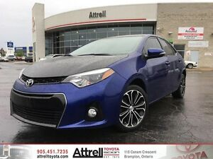 2014 Toyota Corolla S. Fog Lights, Heated Seats, Backup Camera.