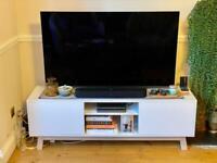 Modern TV media unit / stand (Nordic / Scandinavian design)
