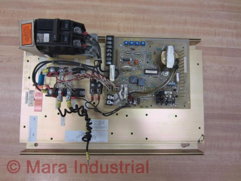 General Electric 6VFW2500 Motor Control