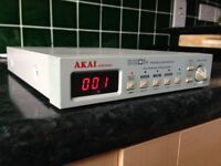 AKAI SG01v VINTAGE SOUND MODULE - CLASSIC ANALOG SOUNDS - COMES WITH ORIGINAL BOX AND MANUAL