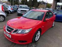SAAB 9-3 2.0 T VECTOR SPORT 4d 175 BHP (red) 2009