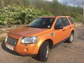 Land Rover Freelander 2 SE Sat Nav 1/2 leather FSH new MOT