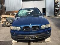 BMW X5 E53 M57D30- Engine Breaking For Parts