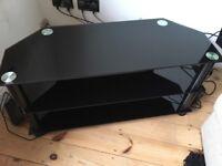 John Lewis Black Gloss TV Stand