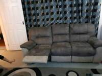 DFS Recliner Sofa x 2 For Sale - New (less than 6 months Old)