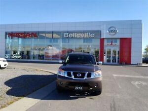 2013 Nissan Armada Platinum 1 OWNER LOCAL TRADE