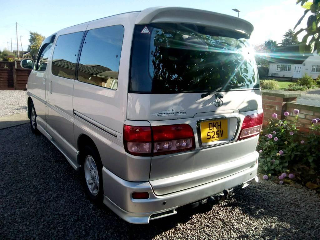 Toyota Regius Campervan In Wisbech Cambridgeshire Gumtree