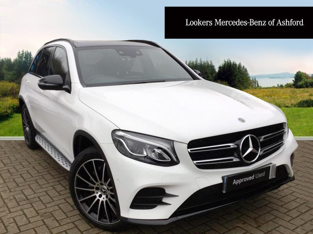 mercedes benz glc class glc 220 d 4matic amg line premium white 2017 12 20 in ashford kent. Black Bedroom Furniture Sets. Home Design Ideas