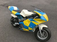 Mini Moto 49cc Police Motorbike
