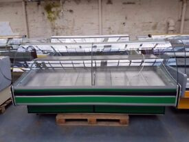 Serve Over Counter Display Fridge Meat Chiller 240cm (7.9 feet) ID:T2414