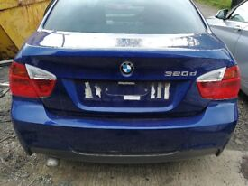 BMW 320D M Sport E90 2007 Blue - For parts only!