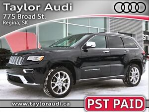 2015 Jeep Grand Cherokee Summit, DIESEL, PST PAID, FULLY LOADED,