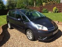 CITROEN C4 PICASSO VTR PLUS HDi MPV 7 SEATER.2008..JUST FULLY SERVICED, NEW MOT