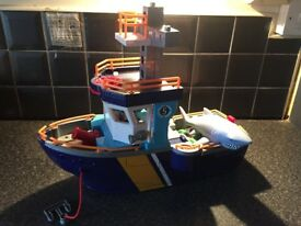 Imaginext boat