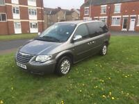 2006 Chrysler grand voyager crd se top spec 7 seater 112k