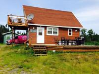 Cottage for sale @ Joe Batts Pond just 10 Kms west of Gander