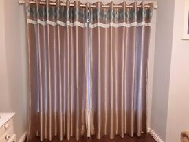 ***Beautiful CURTAINS*** 90x90 **Excellent Condition**
