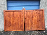 driveway/garden gates