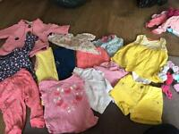 Bundle girls clothes 9-12 months