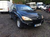 Ssangyong Kyron Automatic Diesel Non runner