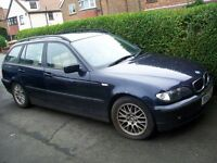 BMW 318i (Spares or Repair) No Mot, Needs Alternator, Been Parked on the Drive for a Year