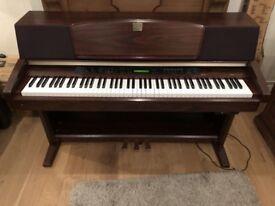Yamaha Clavinova CLP-970 Digital Piano Full Size 88 keys 3 pedals, 128 polyphony top of the range