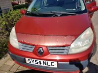Renault Scenic 1.6 petrol reliable family car