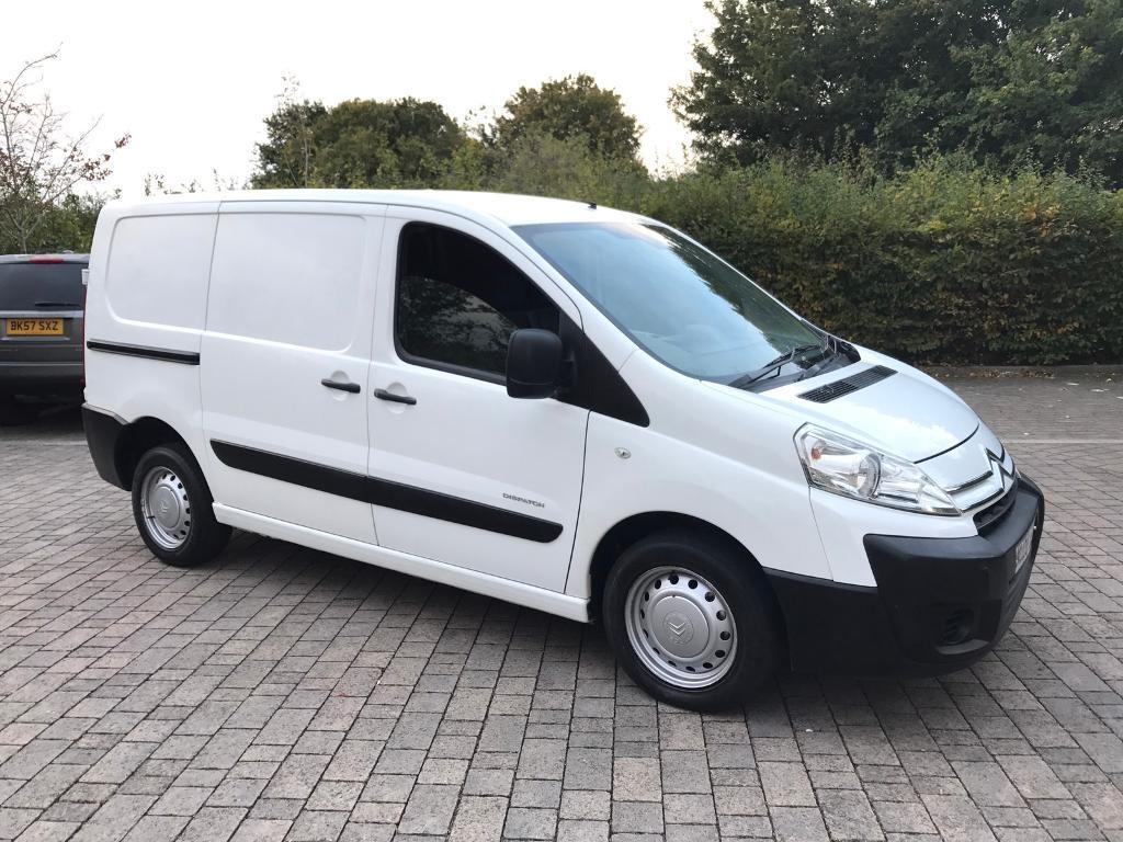 2008 Citroen Dispatch 2.0 HDi SWB Van FULL HISTORY, NEW MOT, NO VAT (